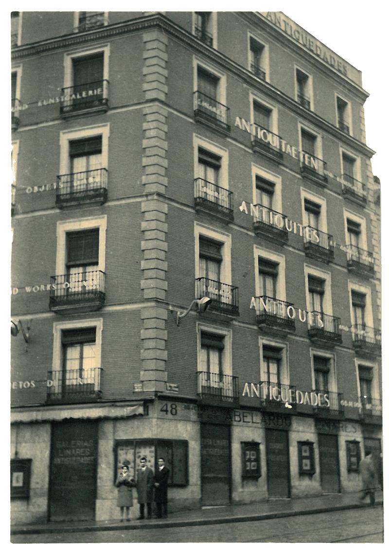 Hauptgeschäftsstelle von Abelardo Linares